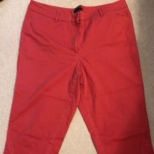 Talbots The Perfect Skimmer Crop Pants